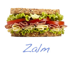 Club sandwich - Zalm