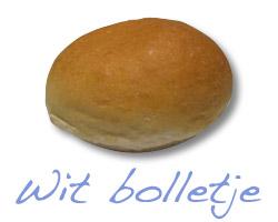 Broodje jonge kaas - wit